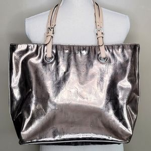Michael Kors Metallic Jet Set Shoulder Bag
